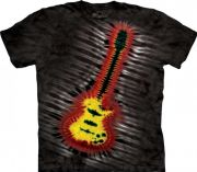 Koszulka The Mountain - Tie-Dye Electric Guitar